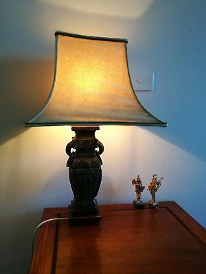 asian table lamp..Pick up from Mornington