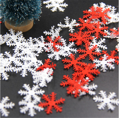 Snowflakes Confetti Scatter Table Christmas Sprinkle Decorations Party Tableware