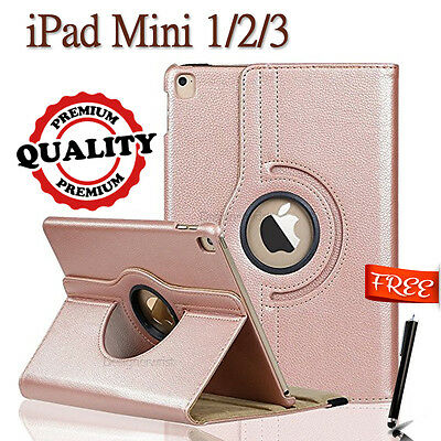New smart stand leather  case cover for APPLE iPad mini 1 2 3 (RSG13
