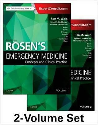 NEW Rosen's Emergency Medicine By Walls Paperback Free Shipping