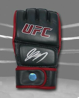 Georges St. Pierre GSP Autographed MMA Fight Official UFC Training Model Glove