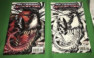 Deadpool Back In Black #1 Tyler Kirkham KRS Comics Variant NM SET LOT NM/MT