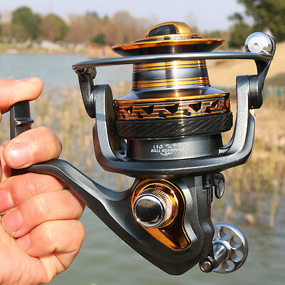 Long Distant Game Fishing Reel Spincasting Left Right Hand Fishing Spool Reel