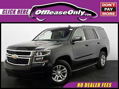 2015 Chevrolet Tahoe LT RWD Off Lease Only Black 2015 ChevroletTahoeLT RWD with 40270 Miles