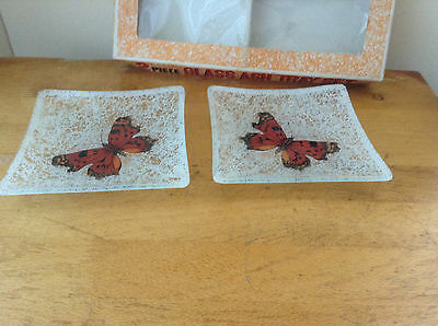 2  Butterfly Pin Dishes