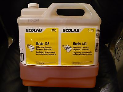 Ecolab #14175 Oasis 133 All purpose cleaner 2.5 gal - Free Shipping