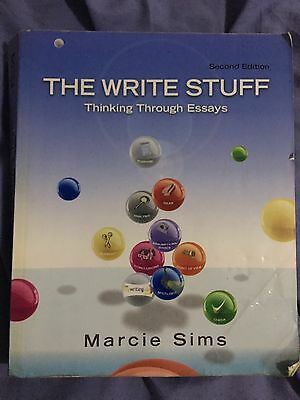 new the write stuff thinking through essays rd edition by the write stuff thinking through essays by marcie sims 2011 paperback
