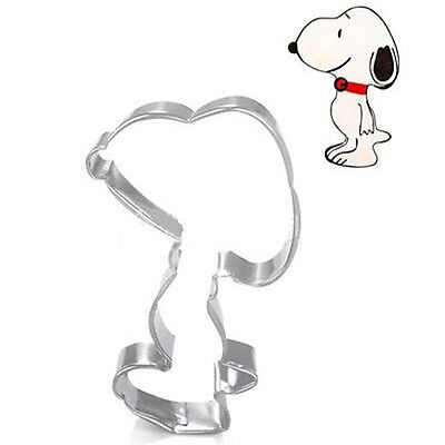 Stainless Steel Cookie Cutter Snoopys Dog Chocolate Cutter Fondant Cake DIY Mold