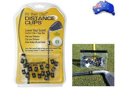 One Golf Club Distance Clips Yardage Makers Package