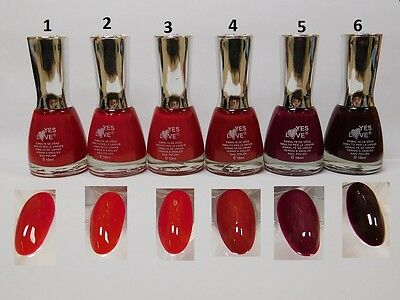 Vernis A Ongles Bordeaux Elégance - RED2-6 - YES LOVE 15 ml - Beaute - Port0 485