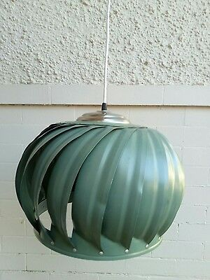 Autentic vintage industrial ceiling light shade/fitting; FREE POST