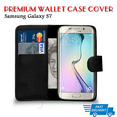 Flip Wallet Leather Case Cover For Samsung Galaxy S7 (B08