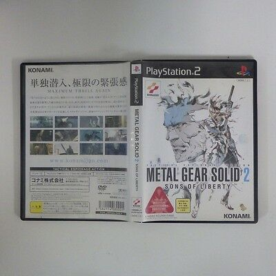 Metal Gear Solid 2: Sons of Liberty /PS2 PlayStation 2 JP GAME/s26