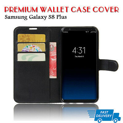 Case Cover For Samsung Galaxy S8PLUS  Wallet Flip Leather  (B06