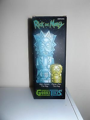 Rick And Morty Geeki Tiki Set Loot Crate DX Exclusive