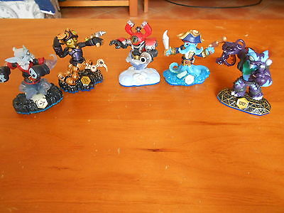 Skylanders 5 Magnetic Jointed Characters V Gd Cond - Fast Post