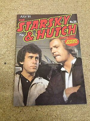 Vintage Starsky And Hutch Magazine #56 July 1981 Final Issue Excellent Nick