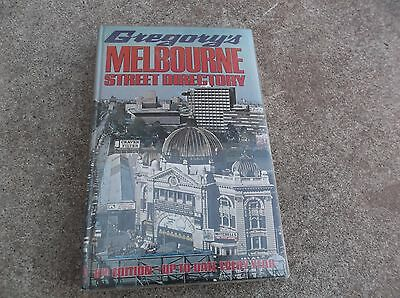 Gregorys Street Directory Melbourne 8Th Edition