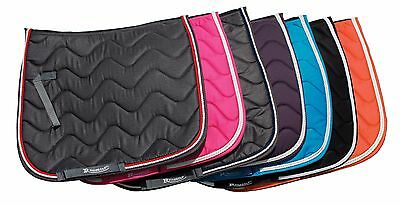 NEW Rhinegold WAVE Horse or Pony Saddle Cloth Pad Lots Colours MATCHY SET ITEMS