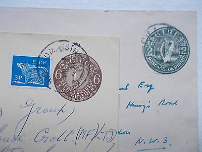 IRELAND Two  Letter Cards used