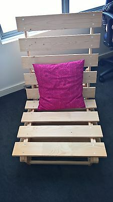 Futon bed; IKEA seat/bed frame