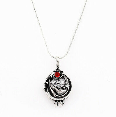 The Vampire Diaries Elena's Vervain Antique Locket Pendant Vintage Necklace Hot