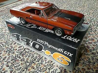 1:18 1970 Plymouth GTX 440 6 Pack Burnt Orange - GMP