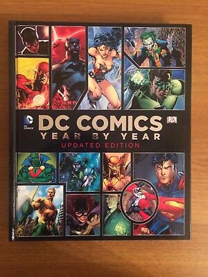 DC Comics Book - Year by Year Updated Edition