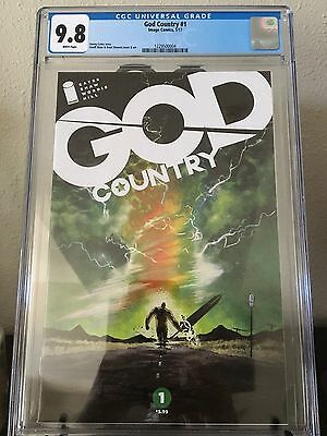 Image God Country #1 Cover A First Print CGC Graded 9.8 Donny Cates