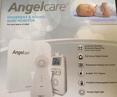 New - Angelcare Movement & Sound Baby Monitor