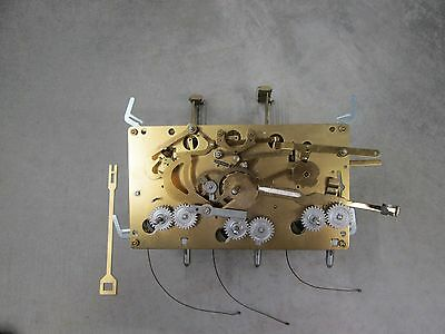 Urgos Triple Chime Grandfather Clock Movement, 03051, 03082 116cm  Working Cond.