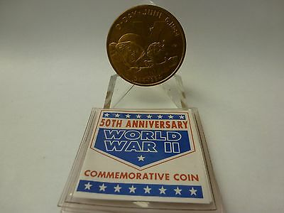 New Queensland Mint 5 Dollars Wwii Commemorative Coin