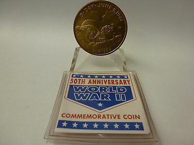 New Queensland Mint 5 Dollars Wwii Commemorative Coin #2