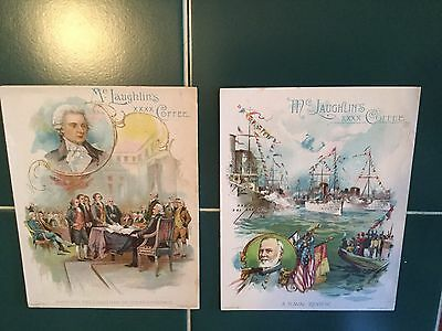 McLaughlin's Coffee Cards 2 Historical Theme Thomas Jefferson A Naval Review