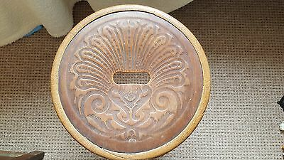 VINTAGE BENTWOOD STOOL chair seat antique