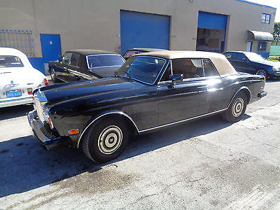 1988 Rolls-Royce Corniche  ROLLS ROYCE CORNICHE II 1988 VERY RARE HARD TO FIND ANOTHER ONE LIKE THIS ONE