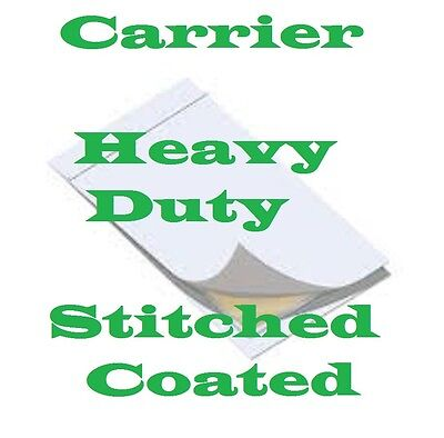 CARRIER SLEEVES Laminating Laminator   LETTER/LEGAL Heavy Stitched Coated 2 pack