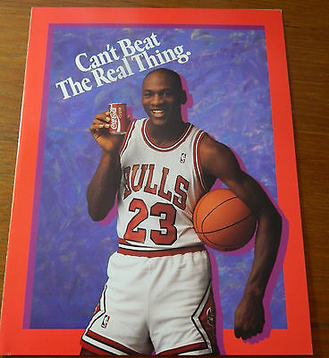 Michael Jordan Coca-Cola 1990 Complete Bottler Promotion Guide
