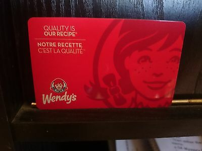 $15 Wendy's gift card