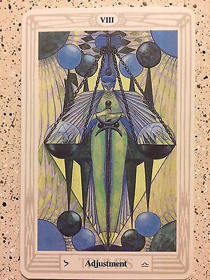 Aleister Crowley Thoth Tarot Small Deck ADJUSTMENT (Individual Card)