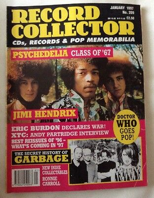 Record Collector Magazine No 209 Jan 1997 Jimi Hendrix Psychedelia Class Of 67