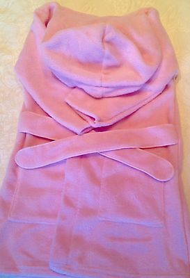 Pink Blue Red Baby Blanks Bath Robe Dressing Gown  10 Job Lot for embroidery