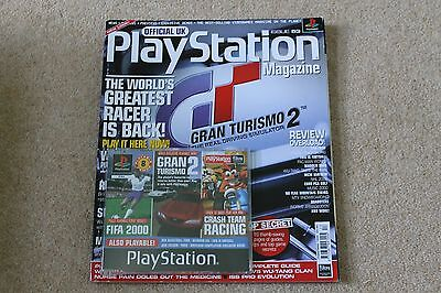 Official Playstation 1 Magazine PS1 Issue 53 Gran Turismo 2 VGC with Demo Disc