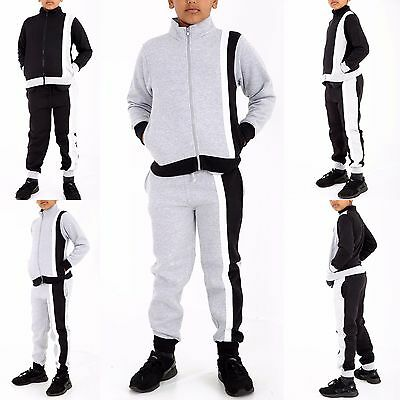 Boys Junior CORDUROY TOP Bottom Jogger FIT Ribbed Fleece Hoodie Tracksuit Set UK