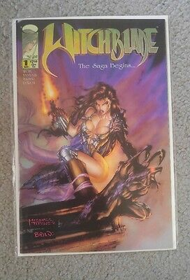 Witchblade 1 comic book high grade image 1995