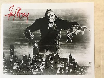 Fay Wrap signed photograph publicity composite from KING KONG