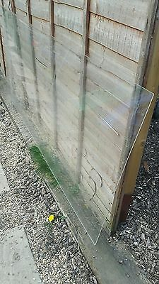 CLEAR SEE THRU PLASTIC ACRYLIC PERSPEX SHEET PANEL x1, NO RESERVE, (NEW RRP £30+