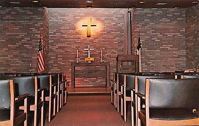 Postcard MN Hills Bernard Tuff Memorial Chapel Home American Lutheran Church PC