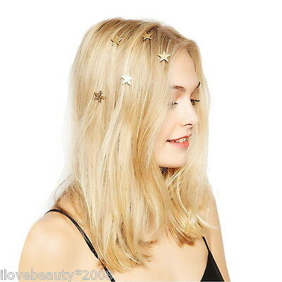 1PC Women Girls Star Clips Hairpin Spiral Hair Claw Stick Accessories HOT