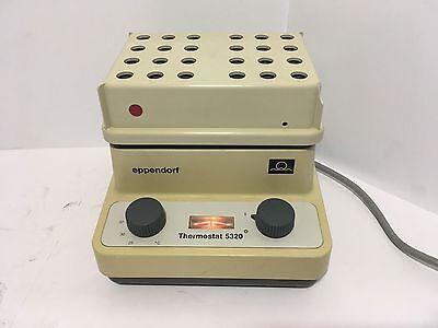 Eppendorf Thermostat 5320 Used Tested Heats